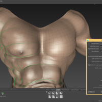 <strong>Advanced retopology tools</strong><br />Create clean, production-quality meshes.