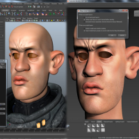 <strong>Maya Blend Shape interoperability</strong><br />Create and merge Blend Shapes into a Maya scene.