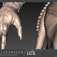 <strong>Sculpting Falloff options - NOWOŚĆ!</strong><br />3D sculpt with Volume or Surface Falloff modes.