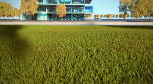 Create realistic grass, fabrics, and carpet with V-Ray Fur.