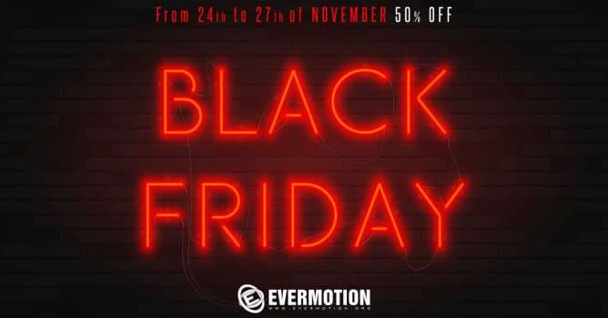 EVERMOTION BLACK FRIDAY 2017