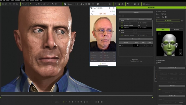 3d scan, 3ds Max, iPhone scanner, motion capture, skaner 3d