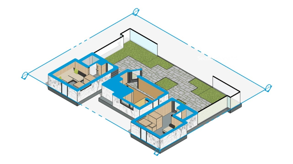 SketchUp Pro 2018 filled_section_cuts